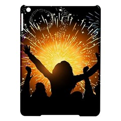 Celebration Night Sky With Fireworks In Various Colors Ipad Air Hardshell Cases
