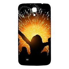 Celebration Night Sky With Fireworks In Various Colors Samsung Galaxy Mega I9200 Hardshell Back Case