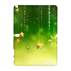 Christmas Green Background Stars Snowflakes Decorative Ornaments Pictures Galaxy Note 1