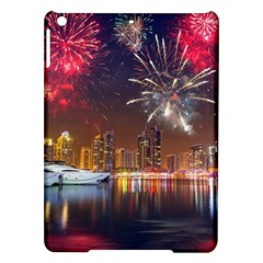 Christmas Night In Dubai Holidays City Skyscrapers At Night The Sky Fireworks Uae Ipad Air Hardshell Cases