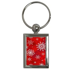 Christmas Pattern Key Chains (rectangle)
