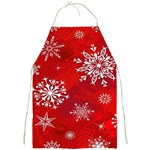 Christmas Pattern Full Print Aprons Front