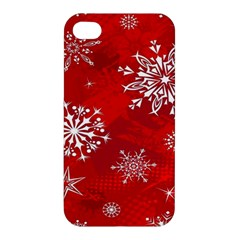 Christmas Pattern Apple Iphone 4/4s Premium Hardshell Case