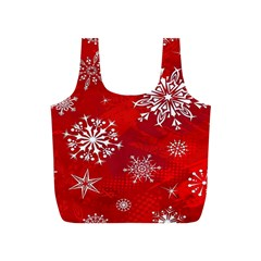 Christmas Pattern Full Print Recycle Bags (s)