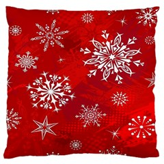 Christmas Pattern Standard Flano Cushion Case (two Sides)