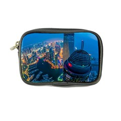 City Dubai Photograph From The Top Of Skyscrapers United Arab Emirates Coin Purse