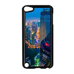City Dubai Photograph From The Top Of Skyscrapers United Arab Emirates Apple Ipod Touch 5 Case (black)