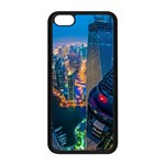 City Dubai Photograph From The Top Of Skyscrapers United Arab Emirates Apple iPhone 5C Seamless Case (Black) Front