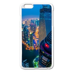 City Dubai Photograph From The Top Of Skyscrapers United Arab Emirates Apple Iphone 6 Plus/6s Plus Enamel White Case