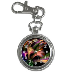 Color Burst Abstract Key Chain Watches