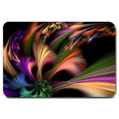 Color Burst Abstract Large Doormat