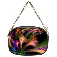 Color Burst Abstract Chain Purses (two Sides)