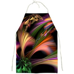 Color Burst Abstract Full Print Aprons