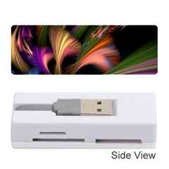 Color Burst Abstract Memory Card Reader (stick)