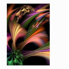 Color Burst Abstract Small Garden Flag (two Sides)