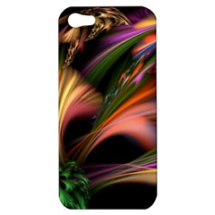 Color Burst Abstract Apple Iphone 5 Hardshell Case