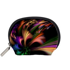 Color Burst Abstract Accessory Pouches (small)
