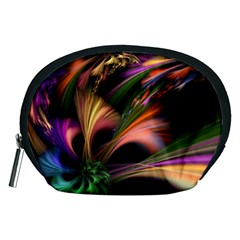 Color Burst Abstract Accessory Pouches (medium)