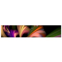 Color Burst Abstract Flano Scarf (small)