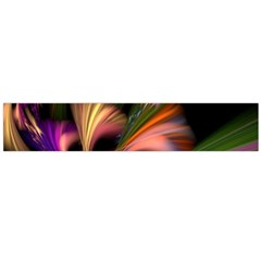 Color Burst Abstract Flano Scarf (large)