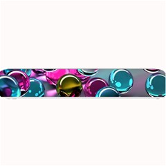 Colorful Balls Of Glass 3d Small Bar Mats