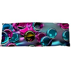 Colorful Balls Of Glass 3d Body Pillow Case Dakimakura (two Sides)