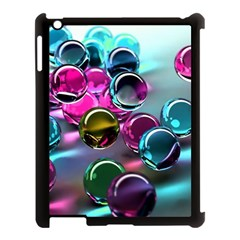 Colorful Balls Of Glass 3d Apple Ipad 3/4 Case (black)