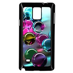 Colorful Balls Of Glass 3d Samsung Galaxy Note 4 Case (black)