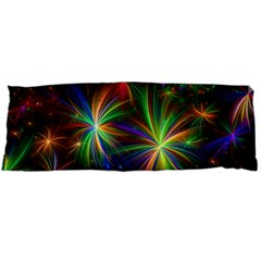Colorful Firework Celebration Graphics Body Pillow Case Dakimakura (two Sides)