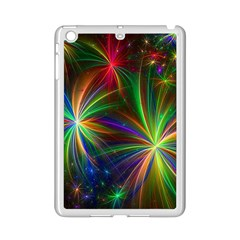 Colorful Firework Celebration Graphics Ipad Mini 2 Enamel Coated Cases