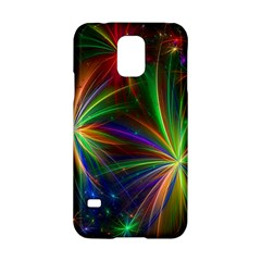 Colorful Firework Celebration Graphics Samsung Galaxy S5 Hardshell Case