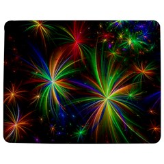 Colorful Firework Celebration Graphics Jigsaw Puzzle Photo Stand (Rectangular)