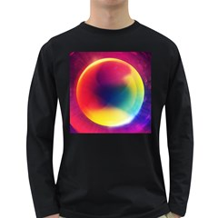 Colorful Glowing Long Sleeve Dark T Shirts