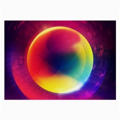 Colorful Glowing Large Glasses Cloth