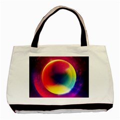 Colorful Glowing Basic Tote Bag (two Sides)