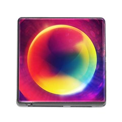 Colorful Glowing Memory Card Reader (square)