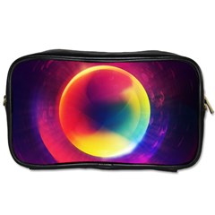 Colorful Glowing Toiletries Bags