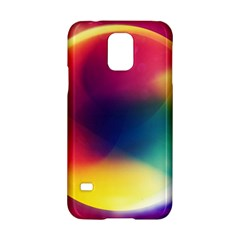 Colorful Glowing Samsung Galaxy S5 Hardshell Case
