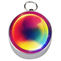 Colorful Glowing Silver Compasses