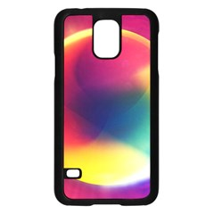 Colorful Glowing Samsung Galaxy S5 Case (black)