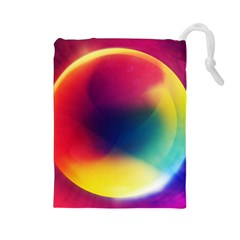 Colorful Glowing Drawstring Pouches (large)