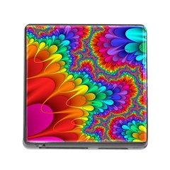 Colorful Trippy Memory Card Reader (square)