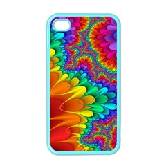 Colorful Trippy Apple Iphone 4 Case (color)