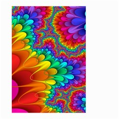 Colorful Trippy Small Garden Flag (two Sides)