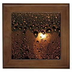 Condensation Abstract Framed Tiles