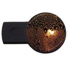 Condensation Abstract Usb Flash Drive Round (4 Gb)