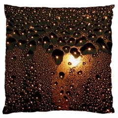 Condensation Abstract Large Flano Cushion Case (one Side)