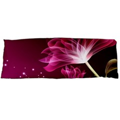 Drawing Flowers Lotus Body Pillow Case Dakimakura (two Sides)