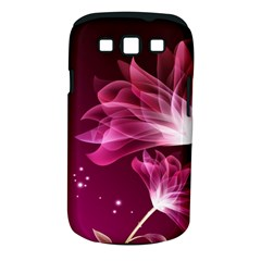 Drawing Flowers Lotus Samsung Galaxy S Iii Classic Hardshell Case (pc+silicone)