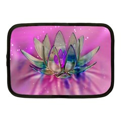 Crystal Flower Netbook Case (medium)